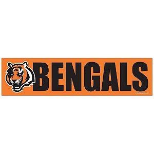 Adesivo Faixa Bumper Strip 30x7,5 Cincinnati Bengals