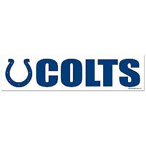 Adesivo Faixa Bumper Strip 30x7,5 Indianapolis Colts