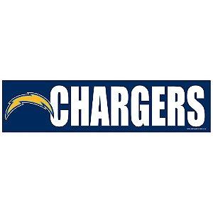 Adesivo Faixa Bumper Strip 30x7,5 Los Angeles Chargers