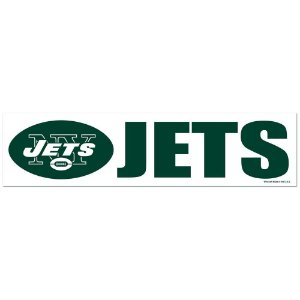 Adesivo Faixa Bumper Strip 30x7,5 New York Jets