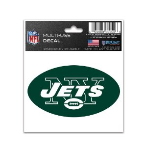 Adesivo Multi-Uso 8x10 NFL New York Jets