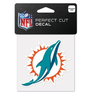 Adesivo Perfect Cut NFL Miami Dolphins