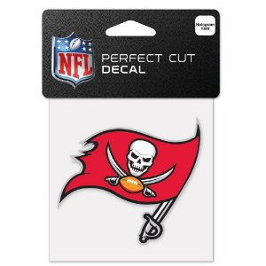 Adesivo Perfect Cut NFL Tampa Bay Buccaneers