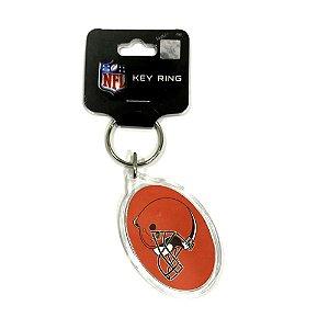 Chaveiro Premium Acrílico Cleveland Browns