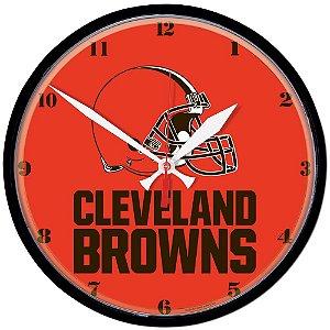 Relógio de Parede NFL Cleveland Browns 32cm