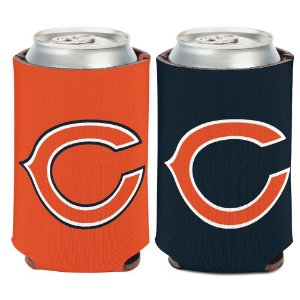 Porta Latinha Logo Team Chicago Bears