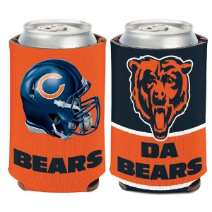 Porta Latinha Slogan Team Chicago Bears