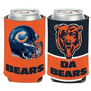 Porta Latinha Slogan Team Chicago Bears