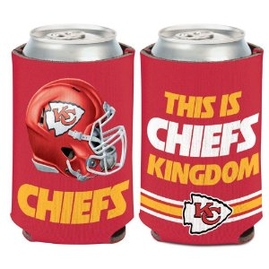 Porta Latinha Slogan Team Kansas City Chiefs