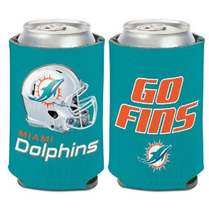 Porta Latinha Slogan Team Miami Dolphins
