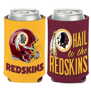 Porta Latinha Slogan Team Washington Redskins