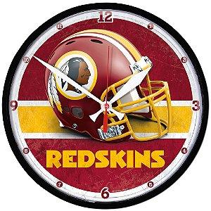 Relógio de Parede NFL Washington Redskins 32cm