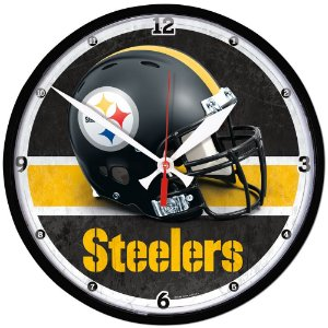 Relógio de Parede NFL Pittsburgh Steelers 32cm