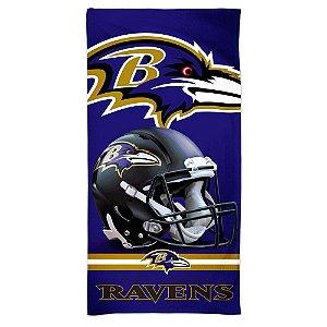 Toalha de Praia e Banho Spectra Baltimore Ravens