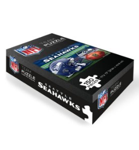 Quebra-Cabeça Team Puzzle 150pcs Seattle Seahawks