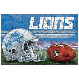 Quebra-Cabeça Team Puzzle 150pcs Detroit Lions