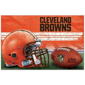 Quebra-Cabeça Team Puzzle 150pcs Cleveland Browns