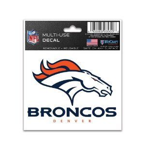 Adesivo Multi-Uso 8x10 NFL Denver Broncos