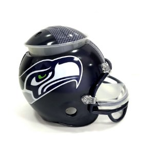 Capacete Snack Helmet Aperitivos GameDay Seattle Seahawks