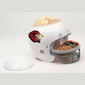 Capacete Snack Helmet Aperitivos GameDay Arizona Cardinals