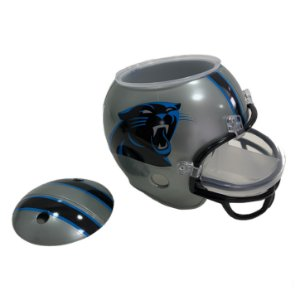 Capacete Snack Helmet Aperitivos GameDay Carolina Panthers