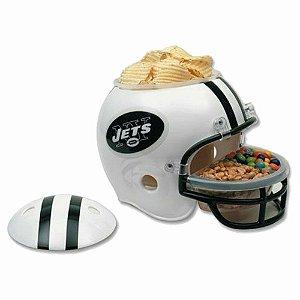 Capacete Snack Helmet Aperitivos GameDay New York Jets