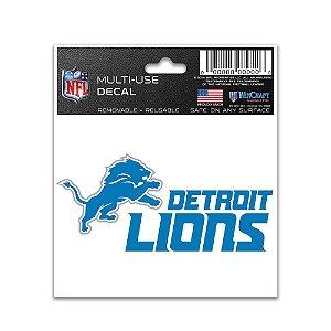Adesivo Multi-Uso 8x10 NFL Detroit Lions
