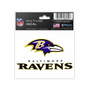 Adesivo Multi-Uso 8x10 NFL Baltimore Ravens