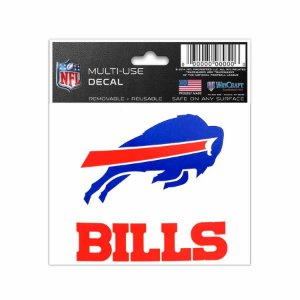 Adesivo Multi-Uso 8x10 NFL Buffalo Bills