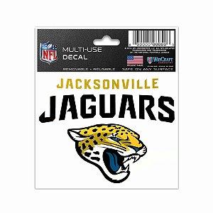 Adesivo Multi-Uso 8x10 NFL Jacksonville Jaguars