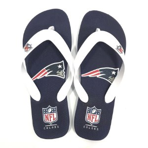 Chinelo de Dedo New England Patriots Flip Flop - NFL