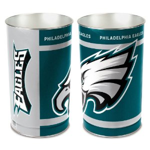 Cesto de Metal Wastebasket 38cm NFL Philadelphia Eagles