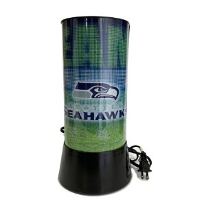 Luminária Rotativa 30cm NFL Seattle Seahawks 120V
