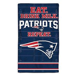 Toalhinha Bebê de Arroto NFL New England Patriots