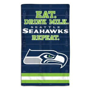 Toalhinha Bebê de Arroto NFL Seattle Seahawks