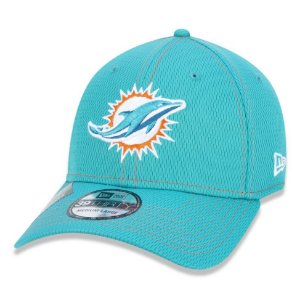 Boné Miami Dolphins 3930 Sideline Road NFL 100 - New Era