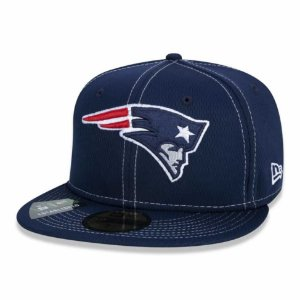 Boné New England Patriots 5950 Sideline Road NFL 100 New Era