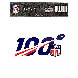 Adesivo Especial Logo NFL 100
