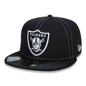 Boné Oakland Raiders 5950 Sideline Road NFL 100 New Era
