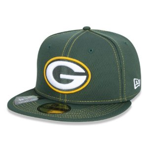 Boné Gren Bay Packers 5950 Sideline Road NFL 100 New Era