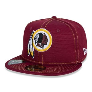 Boné Washington Redskins 5950 Sideline Road NFL 100 New Era