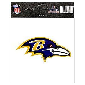 Adesivo Especial Baltimore Ravens Logo NFL