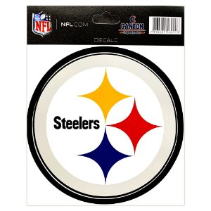 Adesivo Especial Pittsburgh Steelers Logo NFL