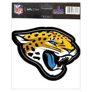 Adesivo Especial Jacksonville Jaguars Logo NFL
