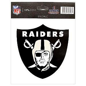 Adesivo Especial Oakland Raiders Logo NFL