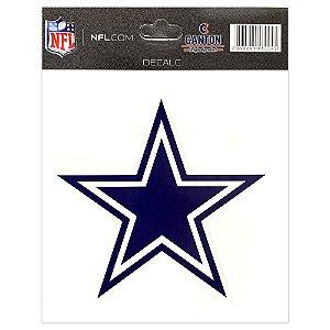 Adesivo Especial Dallas Cowboys Logo NFL
