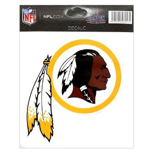 Adesivo Especial Washington Redskins Logo NFL