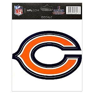 Adesivo Especial Chicago Bears Logo NFL