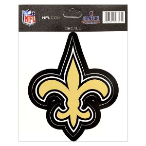Adesivo Especial New Orleans Saints Logo NFL
