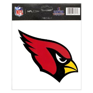Adesivo Especial Arizona Cardinals Logo NFL